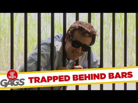 Blind Man BEHIND BARS