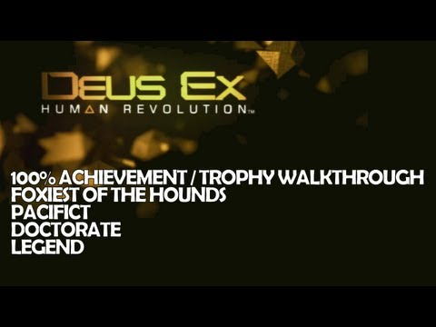 Deus Ex  - Part 10 - S5/M7 P2 - Legend / Doctorate / Pacifist / Foxiest Full Walkthrough