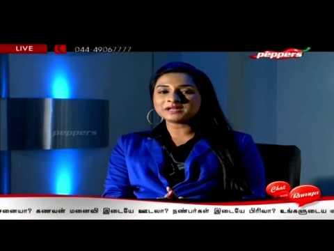 Tamil TV Serial Actress Ramya | Chat with Ramya 28-12-2013