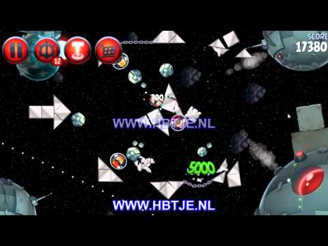 Angry Birds Star Wars 2 Naboo Invasion p1-14 3 stars