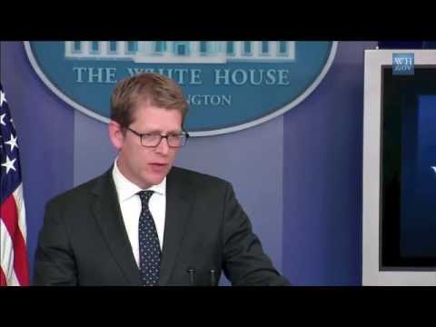 Jay Carney on LGBT executive order and White House study