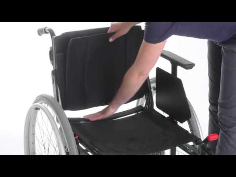 Wheelchair Etac Cross 5 - Guide - Extend seat depth ENG