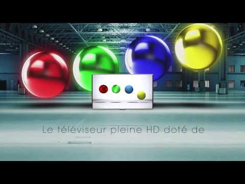 Sharp Aquos Quattron Plus HD TV - French CanadianVoice over