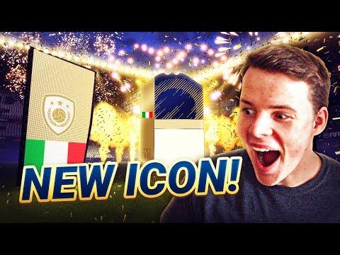 WE GOT A NEW ICON!!!- ELITE FUT CHAMPIONS HIGHLIGHTS & 4-3-2-1 CUSTOM TACTICS! FIFA 18 ULTIMATE TEAM