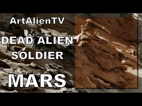 Complete Alien Corpse: Dead Soldier Found on Mars. MARS ZOO 2014.