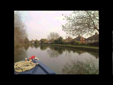 Narrowboat Timelapse on The Grand Union Canal - Yeading to Kensal Green.