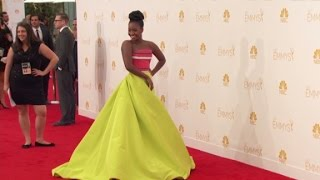 Celebrities walk Emmy red carpet