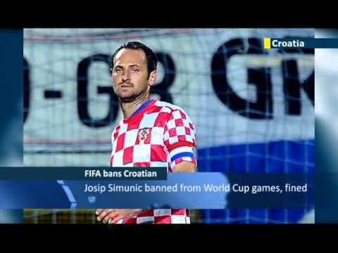 Croatian player gets ban for anti-Semitic chants