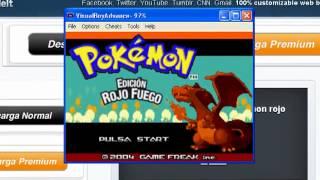 Como Instalar Emulador VisualBoyAdvance + Pokemon Rojo Fuego