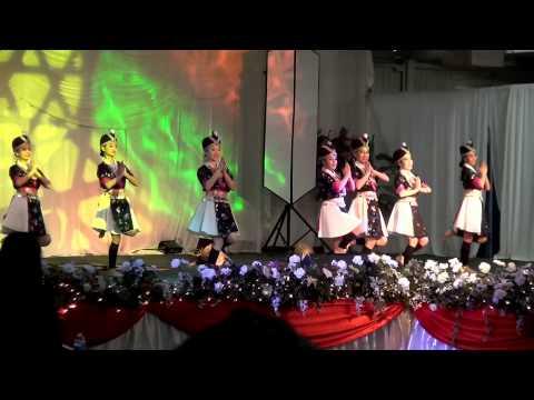 Fresno Hmong International New Year 2013-2014 (Nkauj Hmoob Hli Xiab - Round 1)