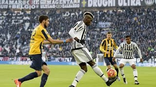 I numeri di Pogba in Juventus-Verona - Pogba's box of Juventus tricks