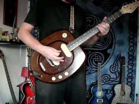 The Flushmaster My Homebuilt Toilet Seat Electric Guitar