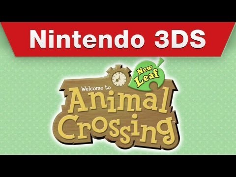 Nintendo 3DS - Animal Crossing: New Leaf Trailer