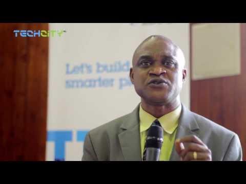 Dr. Uyi Stewart speaks on IBM Research Africa
