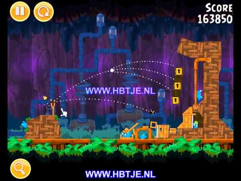 Angry Birds Short Fuse 25-11 3 stars