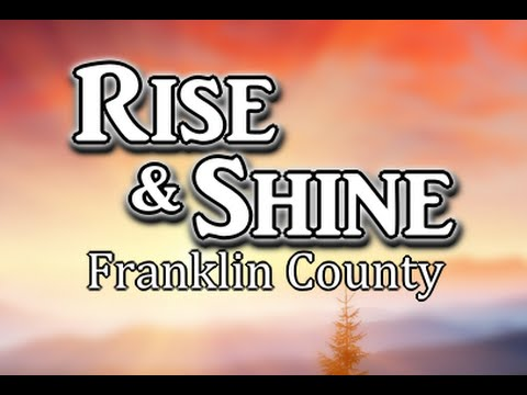 Rise and Shine Franklin County - Register to Vote Event