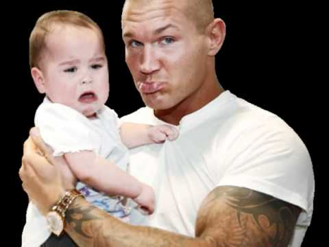 randy orton and his daughter cute pictures - YouTube