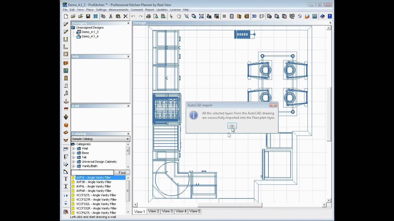 Pro Kitchen Design Software Pro Kitchen Design Software 6 1 1 Autocad 20 20