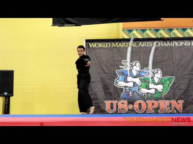 Matt Emig Musical Forms at US Open 2012