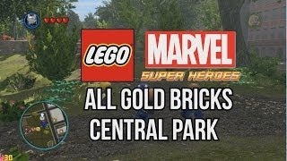 All Gold Bricks Central Park LEGO Marvel Super Heroes