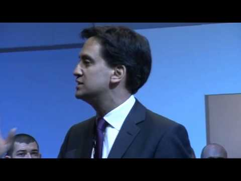 Ed Miliband's speech to TUC Congress 2013
