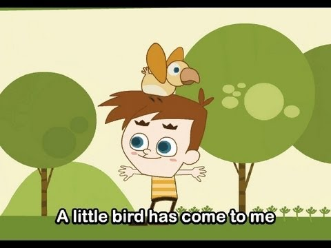 Little Bird's Song   | nursery rhymes &amp; children songs with lyrics | muffin songs