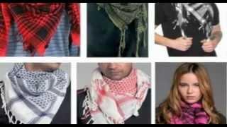 Kuffiyeh symbolic of Palestinian pride and resistance