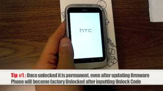 Unlock HTC Wildfire S How To Unlock HTC Wildfire S By