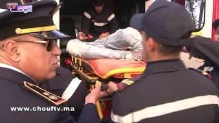 بالفيديو...لحظة إغماء أحد جماهير الجيش مباشرة بعد فوز الفريق العسكري على الرجاء |