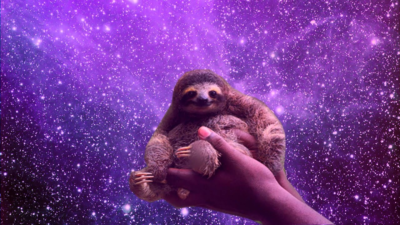 Sloth astronaut in space pics about space - Sloth wallpaper phone ...
