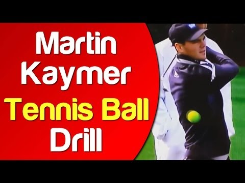 Martin Kaymer Tennis Ball Drill | More Distance