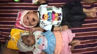 Twin Baby Laughing Playing Crying Sleeping