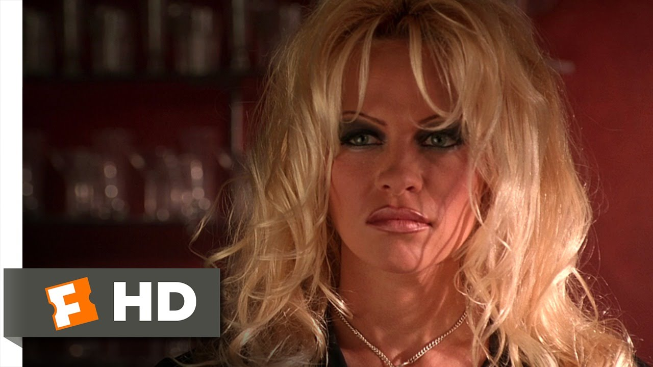 Barb wire movie clip trashing the bar hd