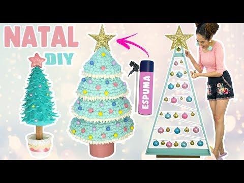 POLY ESPUMA, POLYFORT COLA MADEIRA E POLYFORT BISCUIT -  DIY: Três modelos de árvores de Natal