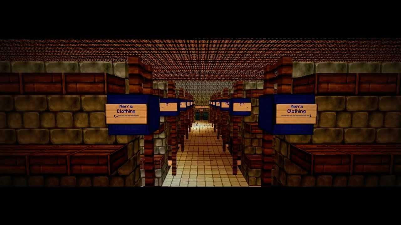 how to build walmart in minecraft