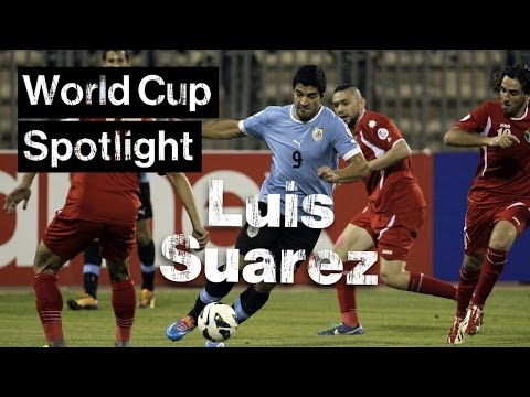 Luis Suarez 60 Second Player Profile | Brazil 2014 World Cup