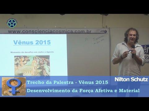 Nilton Schutz - Vênus 2015 - Desenvolvimento da Força Afetiva e Material