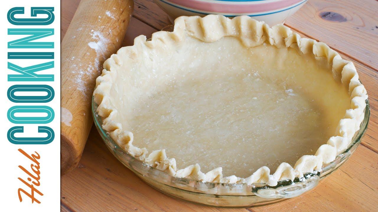 Easy Homemade Pie Crust Recipe ~ How to Make Pie Crust - YouTube