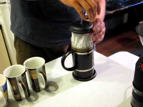 French Press Coffee Maker How To Clean : Howto make super clean French press coffee - YouTube