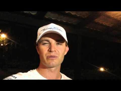 Nico Rosberg: 2nd place Malaysia GP 2014 video message