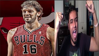 NBA FAN REACTION TO Pau Gasol Going To The Chicago Bulls