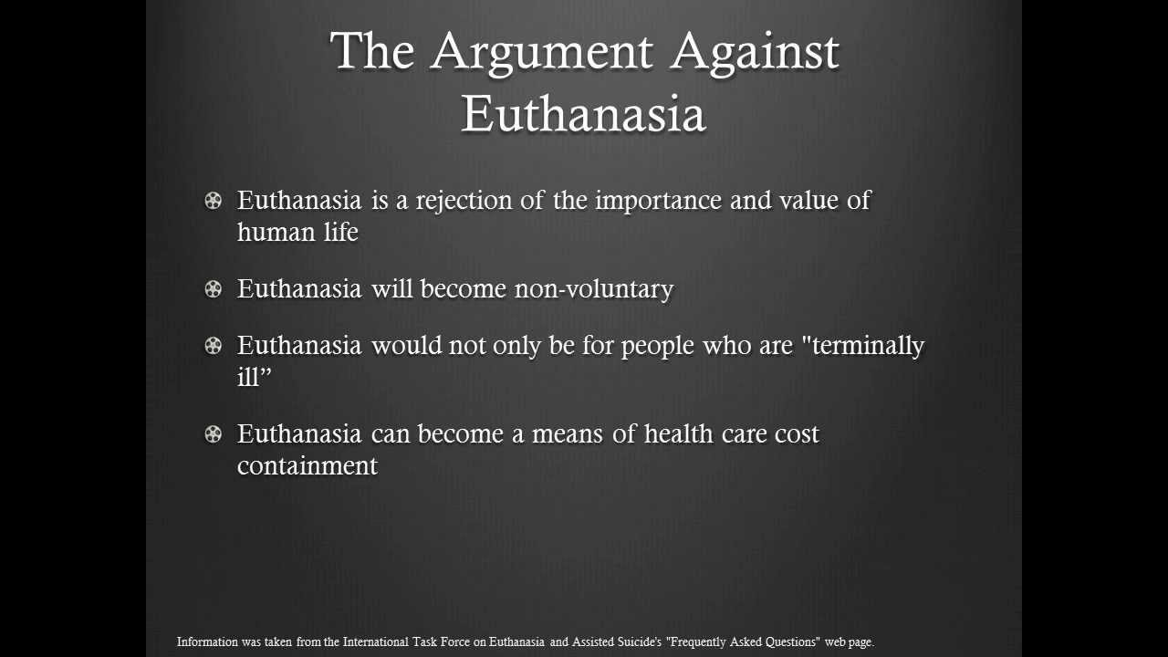 is euthanasia right or wrong essay