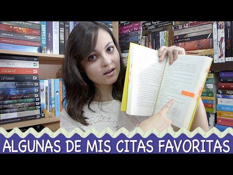 Citas literarias favoritas | Primera parte