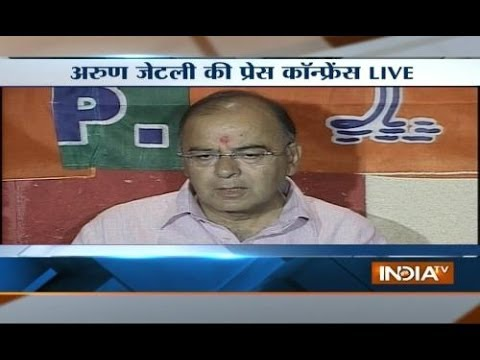 Congress in state of confusion, says BJP leader Arun Jaitley