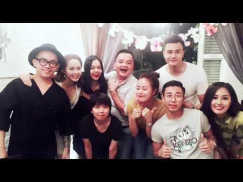 Hoàng Thùy Linh đón sinh nhật bên người yêu và nhóm bạn thân(tin tuc sao viet)