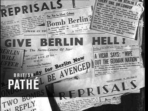 Reprisal Headlines (1940)