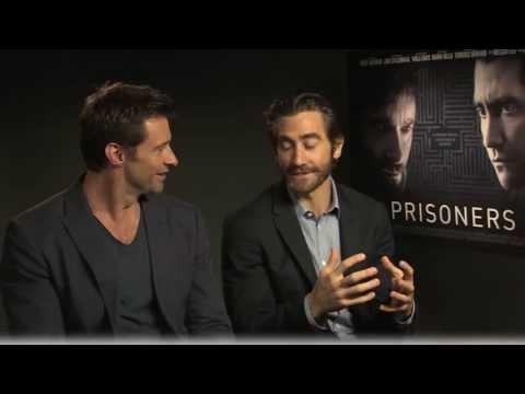 Hugh Jackman and Jake Gyllenhaal Interview -- Prisoners
