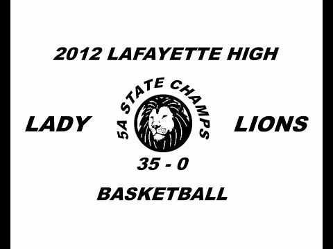 2012 lady lions basketball
