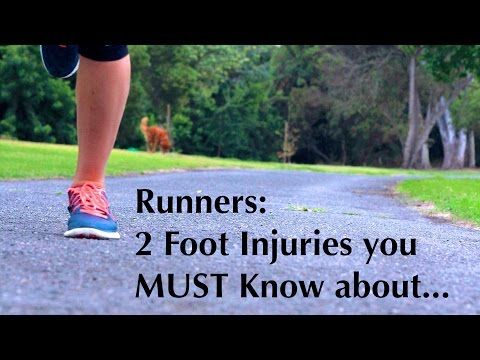 2 Common Foot Injuries you need to know about as a Runner