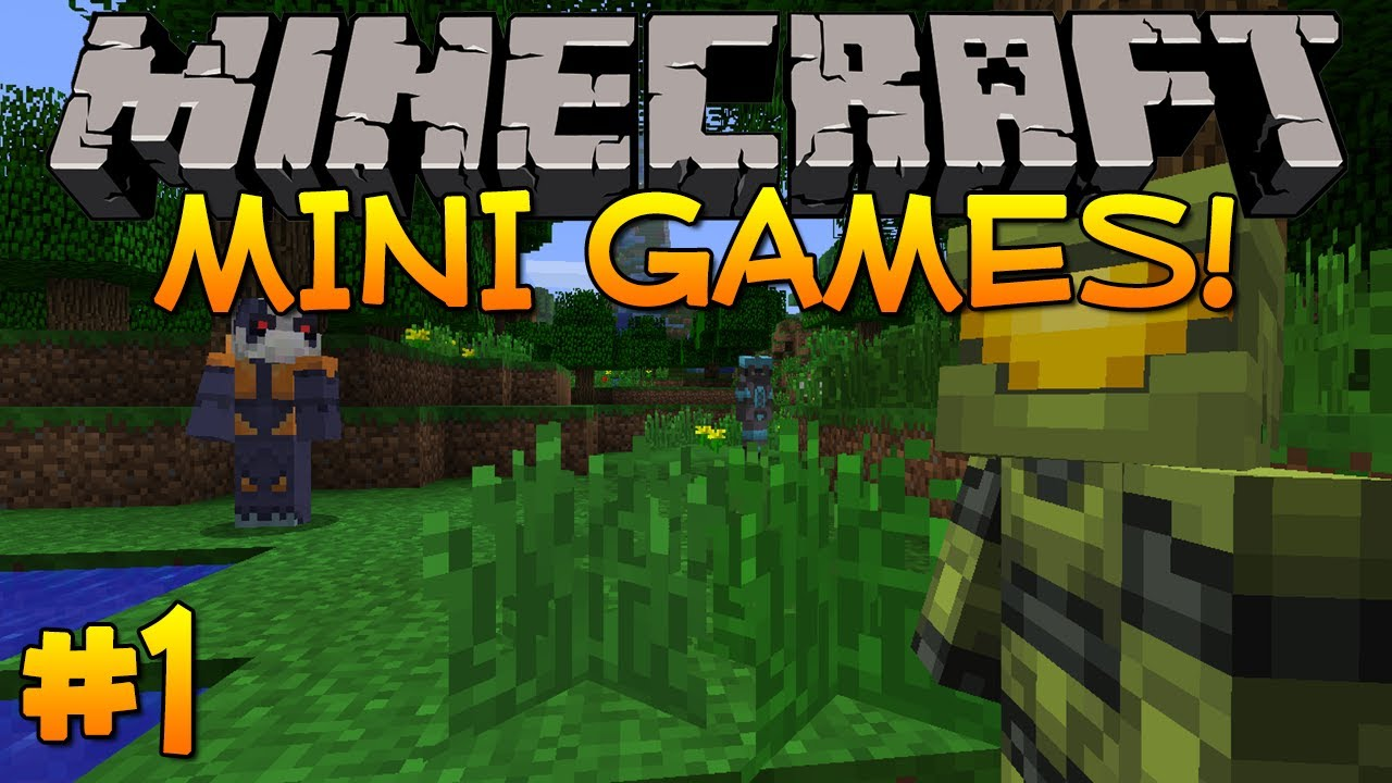 how to make cool minigames in minecraft